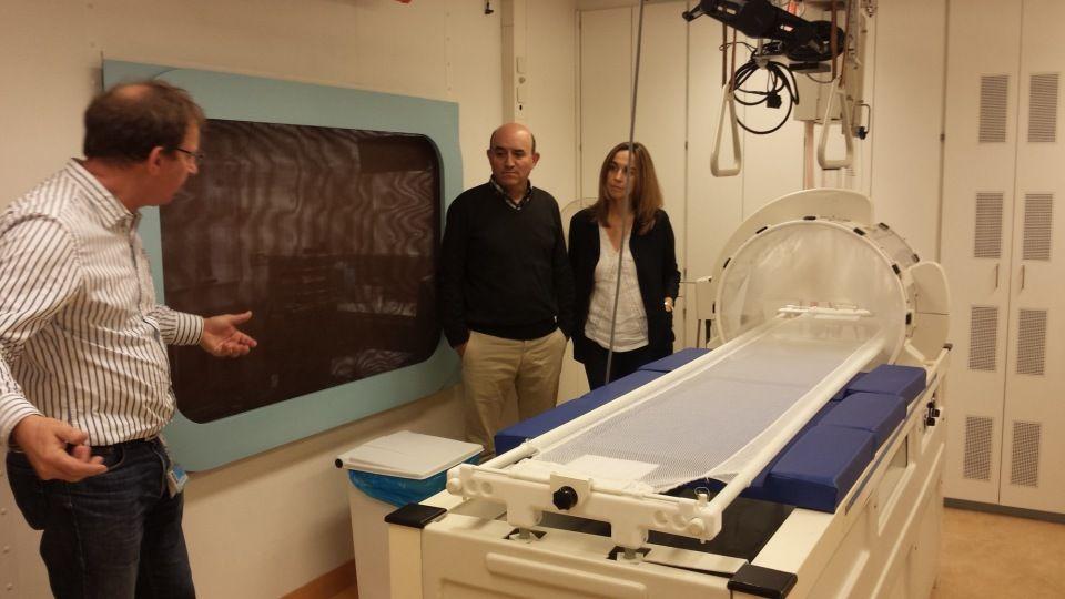 Resumen de la visita al centro Daniel de Hoed del Complejo Hospitalario Erasmo de Rotterdam