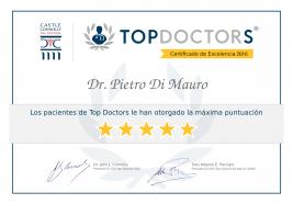 Certificados de excelencia para especialistas de magna clinic