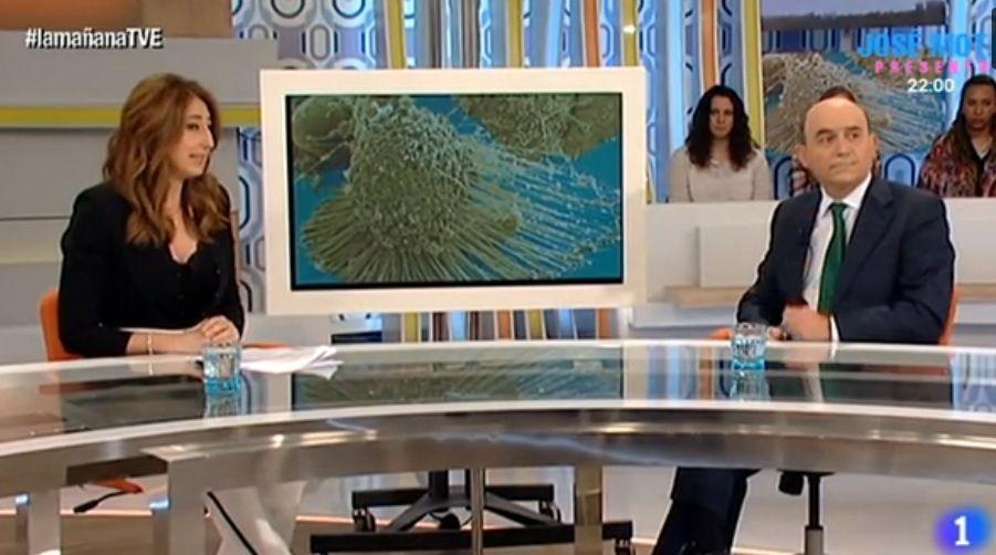 Intervención del Dr. Jorge Contreras sobre la hipertermia en Magna Clinic Marbella (La Mañana, TVE)