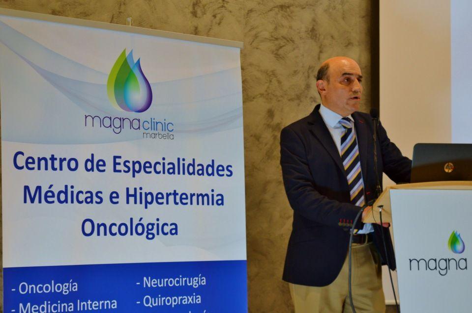Discurso de presentación del aniversario de Magna Clinic